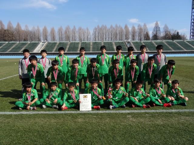 U-13優勝・ウイングスSC